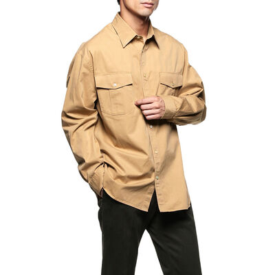 BAGUTTA(バグッダ)コットンギャバジンシャツ