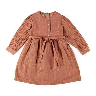 TOCOTO VINTAGE(トコトヴィンテージ)ラメストライプ柄ドレス