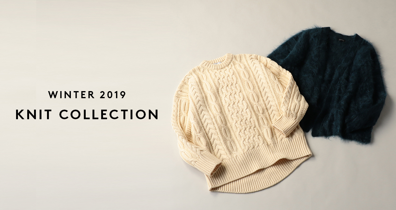 WINTER 2019 KNIT COLLECTION