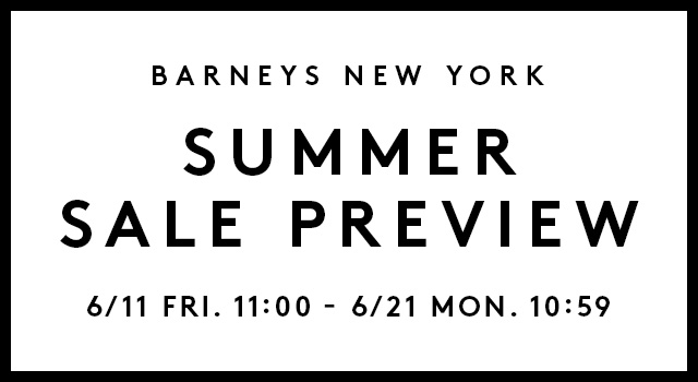 SUMMER SALE PREVIEW